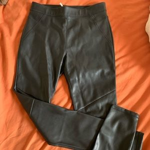 Never worn free people leather pants